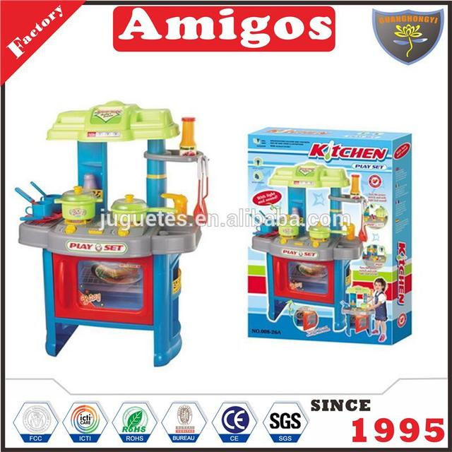 Hot Selling Funny Children Kids Cookware Kitchen Playset Toys From Manufacturer