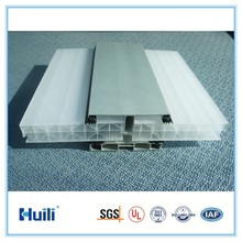 Huili X Structure Polycarbonate Triple-Wall Protection Sheets System Used for Roof Covering