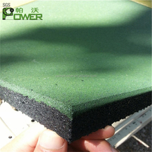 10-50mm outdoor sports rubber flooring for sale