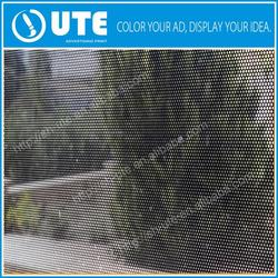 Waterproof window glass one way vision transparent film