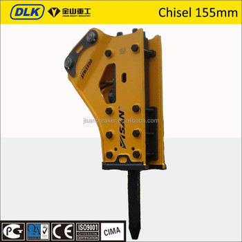 chisel 155mm sb121 side type hydraulic breaker for 28-40 ton excavator