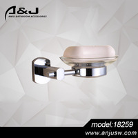 New Style Chrome Finishing Brass Bathroom Accessory Soap Dish Hotel Soap Dish Holder