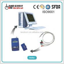 3 lead Holter Monitor ECG recorder and evaluation equipment CE marked