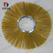 PP and Steel Wire Mixed Cleaning Snow Rotary Sweeper Brushes Manufacturer