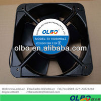 150x150x50mm AC Axial Fan 38W 0.22A Big Air Flow Cooler Fan 220V AC Brushless Cooling Fan