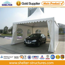 Outdoor tents for garage with fire retardant, UV-protection