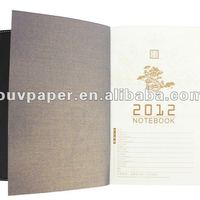 Office Supplies PU Leather Notebook Planner