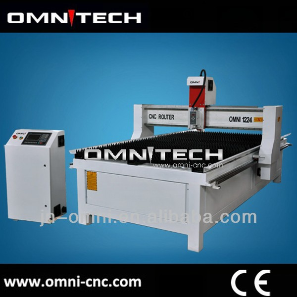 CNC plasma cutter with 1300*2500mm OMNI 1325