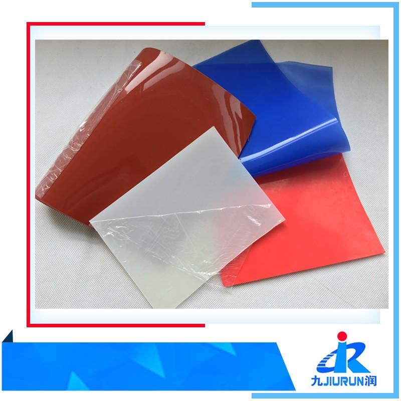 2mm Transparente Membrana de Alta Temperatura Silicone Condutivo, colorido Folha de Borracha de Silicone Resistência Ao Calor