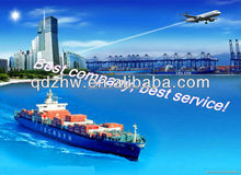 China customs clearance and freight forwarding agent in Qingdao , China