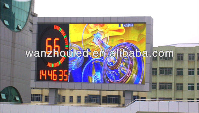 P20 LED billboard, led signs,double sided outdoor advertising led display