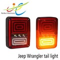 Jeep Wrangler auto car accessories 12v/24v LED rear signal light offroad tail light