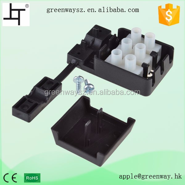 wire connector terminal plastic electrical junction box #M606