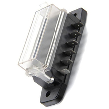6 Way Fuse Block Fuse Boxes For Auto Blade Fuse