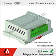PLC Industrial Plastic Case Standard Din Rail Enclosure Control Box