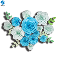 Birthday Party Wedding Party Home Room Flowers Decoration DIY Paper Flowers Backdrop