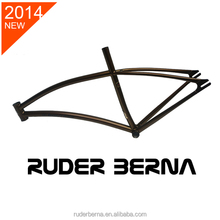 Ruder Berna Eightper Taiwan Made 700C Gamma Bicycle Coffee frame fixed gear