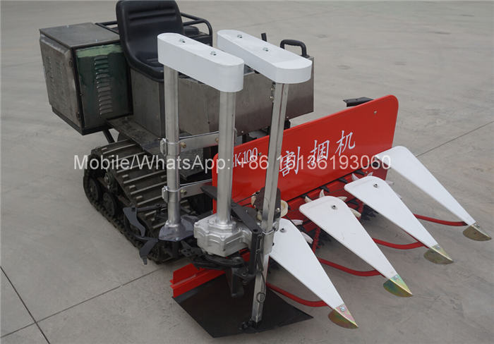 Crawler type tractor Wheat cutting binder machine india price