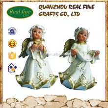 Resin crafts small angel figurines