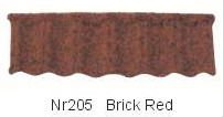 Color Rock Coating Metal Roof Tile