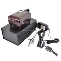 Single Action Nail Art Air Brush Air Compressor Kit Craft Cake Tattoo BROWN