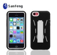 3 in 1 robot kickstand combo cover case for iphone 5c