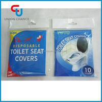 10pcs Disposable Paper Toilet Seat Cover