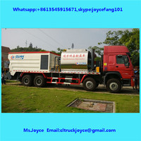 Asphalt Synchronous Chip Sealer,Distribute Bitumen Aggregate,Chipping Machine