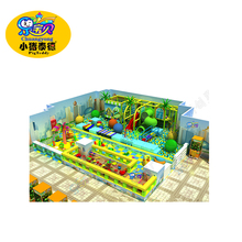 CE approved indoor playground kids naughty fort