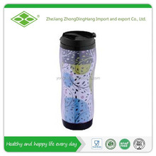 14oz hot sale double wall seal plastic cup