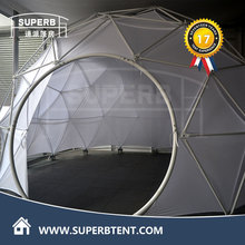 Fire retardant festival geodesic dome tent for party ceremony, carpa domo para fiesta
