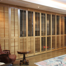 Custom Wooden Shutter Louvers Basswood Plantation Shutters From China
