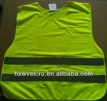 custom made high visibility Traffic warning Safety Reflective vest for kids