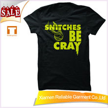 Screen Printing Factory supply wholesale tagless t shirts screen printing overseas t shirts