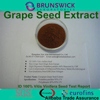 Grape Seed Extract (high orac value) with ID 100% Vitis vinifera,OPCs 95% USP Grade,Low Pesticides,Aflatoxin,PAHs