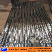 corrugated galvanized steel roof panels