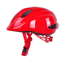 2015 Direct Factory Cute infant bicycle helmet with light