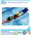 Teaches for a kickboard swimming lesson for kids