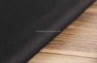2015-2016 black sateen solid stretch sateen fabric