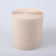 Wholesale factory manufacturer apricot medical band / webbing elastic strip