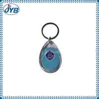 Customized high quality acrylic key chain /photo key chain /plastic key chain for promotion