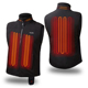 Heated Thermal Vest Liner Battery Heated Vest For Motorcycle