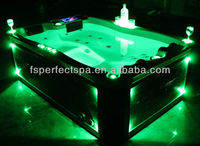 luxury massage swim spa pool with jacuzzi functional for 2/3 person with lower price