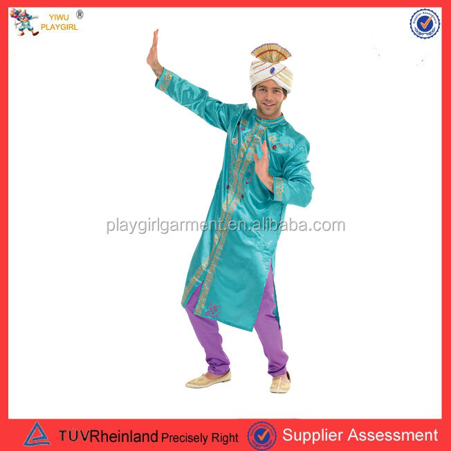 PGMC-0574 luxury male India Bollywood Prince King Costume for party