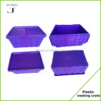 100% new material heavy duty flat plastic containers
