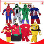 Halloween superhero spiderman enfants carnaval cosplay déguisements costumes pour enfants