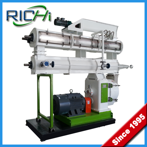 automatic chicken cattle cow pig sheep animal poultry feed pellet making machine