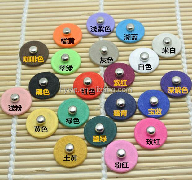 Kinds od color 4-Hole Metal Snap Button 17.5mm button for children cloths Snap Buttons