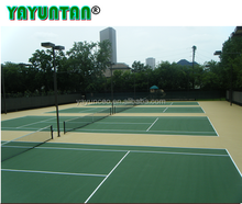 acrylic rubber multi-purpose sport court flooring / tennis court/badminton court surface