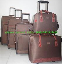 5 pcs set suitcase luggage factory